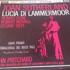 Discos de vinilo: JOAN SHUTHERLAN. Lote 46167959