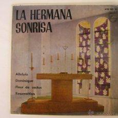Discos de vinilo: LA HERMANA SONRISA - ALLELUIA - 1965. Lote 46169753