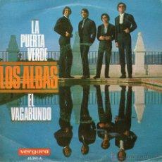 Discos de vinilo: ALBAS, LOS, SG, LA PUERTA VERDE + 1, AÑO 1968. Lote 46170874
