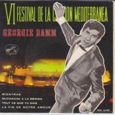 Discos de vinilo: GEORGIE DANN - MUCHACHA A LA MEDIDA - MIENTRAS + 2 - EP SPAIN 1964 EX / EX. Lote 46171982