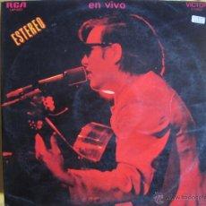 Discos de vinilo: LP - JOSE FELICIANO - EN VIVO (DOBLE DISCO, SPAIN, RCA RECORDS 1970). Lote 46172591