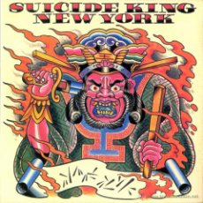 Discos de vinilo: SUICIDE KING * LP * NEW YORK * NUEVO!!! VINILO 180G. LUXE. Lote 26625937