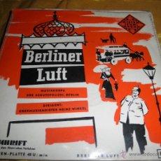 Discos de vinilo: BERLINER LUFT. EP. TELEFUNKEN EDICION ALEMANA. Lote 46175159