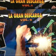 Discos de vinilo: LA GRAN DESCARGA VOL. 1 & 2: POISON + BLACK SABBATH + VIXEN + MEGADETH + QUEENSRYCHE STRYPER ALIAS . Lote 46178572