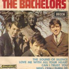 Disques de vinyle: THE BACHELORS - THE SOUND OF SILENCE (EP-SOLO PORTADA). Lote 46182303