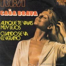 Discos de vinilo: CAÑA BRAVA - ERNESTO TITO DUARTE AUNQUE TE VAYAS MUY LEJO SINGLE VINILO LATIN JAZZ SOUL FUNK BREAKS. Lote 46187428