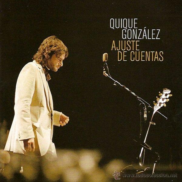 2LP + CD QUIQUE GONZALEZ AJUSTE DE CUENTAS VINILOS BUNBURY , IVAN FERREIRO (Música - Discos - LP Vinilo - Grupos Españoles de los 90 a la actualidad)