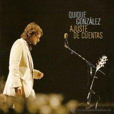 Discos de vinilo: 2LP + CD QUIQUE GONZALEZ AJUSTE DE CUENTAS VINILOS BUNBURY , IVAN FERREIRO. Lote 182979911