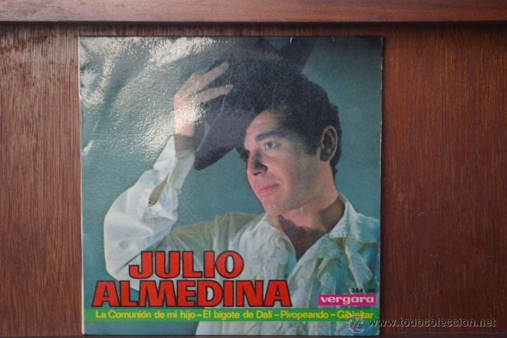 DALI-LOS BIGOTES DE DALI-CANTA JULIO ALMEDINA-EP DE 4 CANCIONES (Música - Discos de Vinilo - EPs - Flamenco, Canción española y Cuplé)