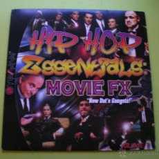 Discos de vinilo: HIP HOP ESSENTSALS : MOVIE FX NOW DAT`S GANGSTA VOLUME 1 /LP DJ ROB & FILTHY RICH. Lote 46196050