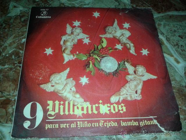 VILLANCICOS - CORO Y RONDA ALEGRIA (Música - Discos - Singles Vinilo - Otros estilos)