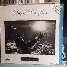 Discos de vinilo: LIONEL HAMPTON - LIVE IN EUROPE. Lote 46196738