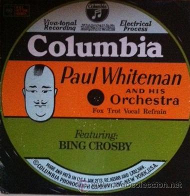 PAUL WHITEMAN Y BING CROSBY - FOX TROT VOCAL REFRAIN - ED. USA (Música - Discos - LP Vinilo - Orquestas)