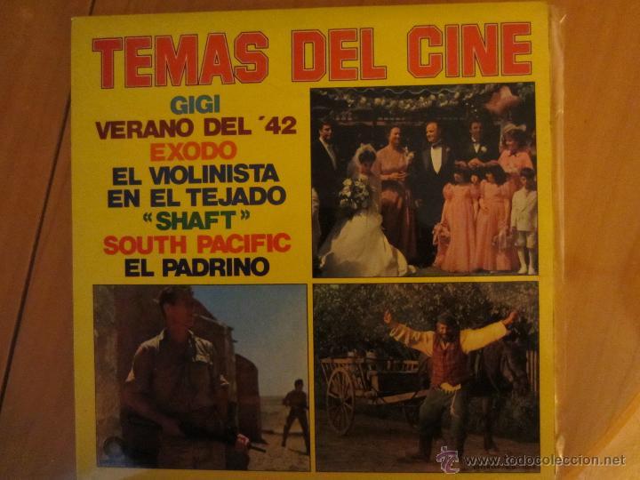 TEMAS DEL CINE ORQUESTA LATIN SOUND- (Música - Discos - LP Vinilo - Orquestas)