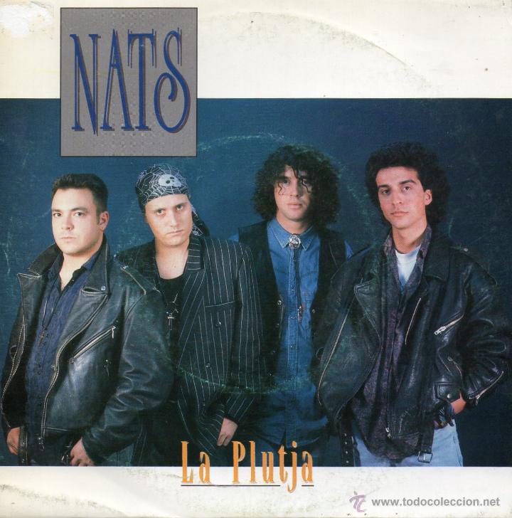 NATS, SG, LA PLUTJA + 1, AÑO 1992 (Música - Discos - Singles Vinilo - Grupos Españoles de los 90 a la actualidad)