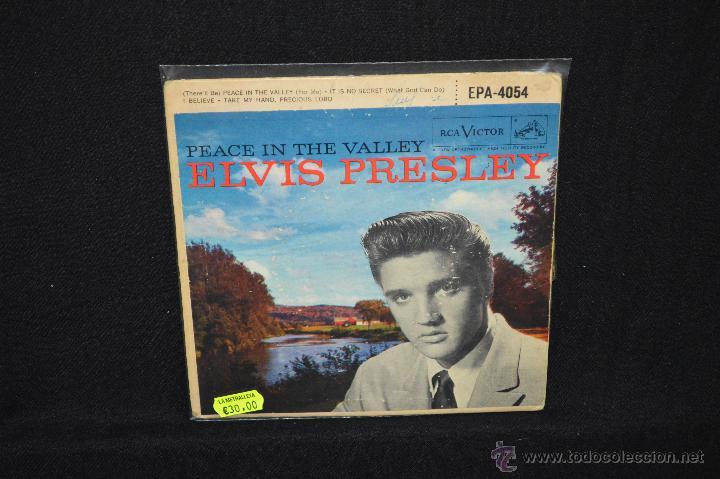 ELVIS PRESLEY - PEACE IN THE VALLEY - EP (Música - Discos de Vinilo - EPs - Rock & Roll)