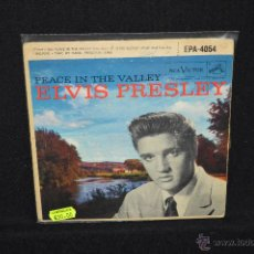 Discos de vinilo: ELVIS PRESLEY - PEACE IN THE VALLEY - EP. Lote 46205965