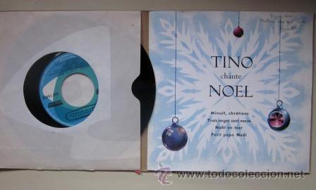 Discos de vinilo: TINO CHANTE NOEL - DISCO LIBRO CON PARTITURAS Y LETRAS - Foto 2 - 46207896