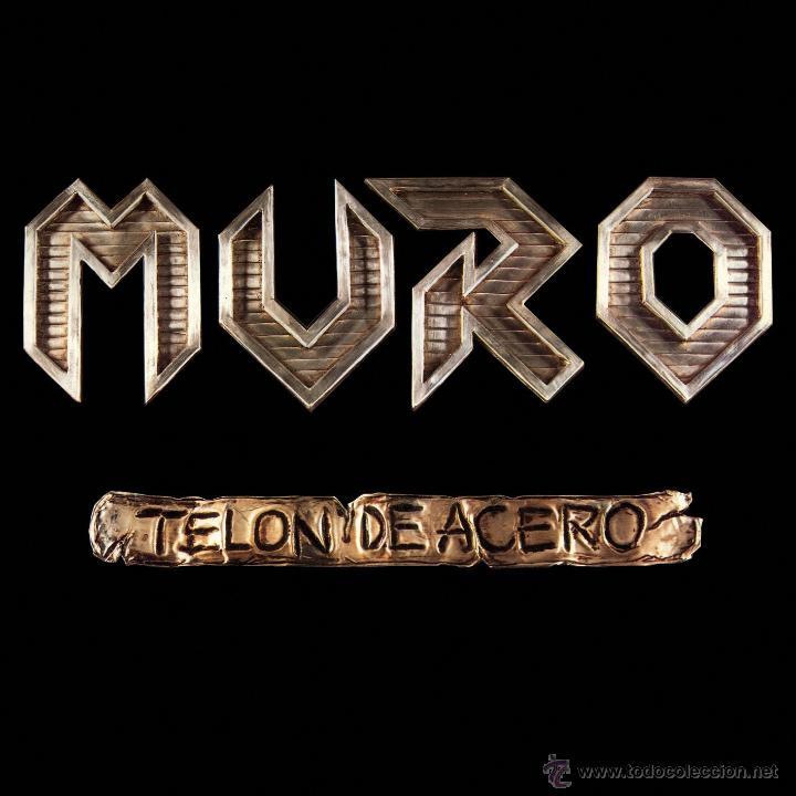 LP MURO TELON DE ACERO VINILO HEAVY METAL SPANISH (Música - Discos - LP Vinilo - Heavy - Metal)