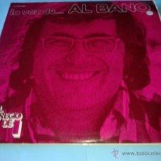 Discos de vinilo: LA VOZ DE ... AL BANO - ALBANO. Lote 46212353