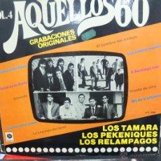 Discos de vinilo: AQUELLOS 60 -GRABACIONES ORIGINALES-LP. Lote 46215574