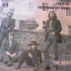 Discos de vinilo: THE BEATLES, LET IT BE YOU KNOW MY NAME. Lote 46219599