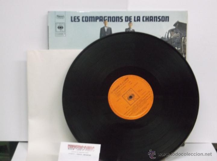 Discos de vinilo: LES COMPAGNONS DE LA CHANSON - EDICION FRANCESA ( DOCE CANCIONES ) - Foto 3 - 46224047