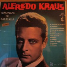 Discos de vinilo: ALFREDO KRAUS- ROMANZAS DE ZARZUELA -ORQ. SINFONICA DE MADRID-CARILLON-1965. Lote 46233673