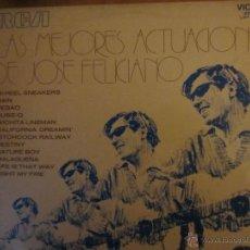 Discos de vinilo: LAS MEJORES ACTUACIONES DE JOSE FELICIANO- R.C.A VICTOR-1971. Lote 46236238