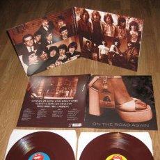 Discos de vinilo: ROLLING STONES 2 LP ON THE ROAD AGAIN VINILO COLOR MARRON PRECINTADO NUEVO. Lote 46243994
