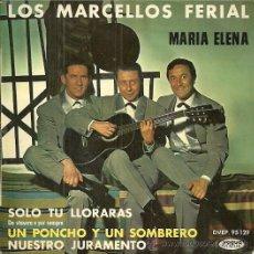 Discos de vinilo: LOS MARCELLOS FERIAL EP SELLO VOGUE EDITADO EN FRANCIA. Lote 46244562