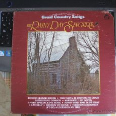 Discos de vinilo: GREAT COUNTRY SONGS - THE RAINY DAYS SINGERS - LP 1977 - USA. Lote 46246380