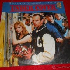 Discos de vinilo: UNDER COVER BSO OST LP 1987 CANADA TSOL TODD RUNDGREN AGENT ORANGE PASSIONNEL WEDNESDAY WEEK. Lote 46247307