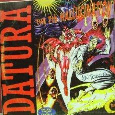 Discos de vinilo: DATURA-THE 7TH HALLUCINATION MAXI SINGLE VINILO 1994 SPAIN. Lote 46249746