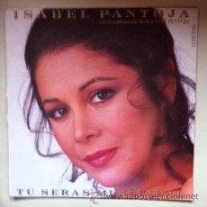 Discos de vinilo: ISABEL PANTOJA - TÚ SERÁS MI NAVIDAD - MAXI SINGLE - 1987. Lote 196838268