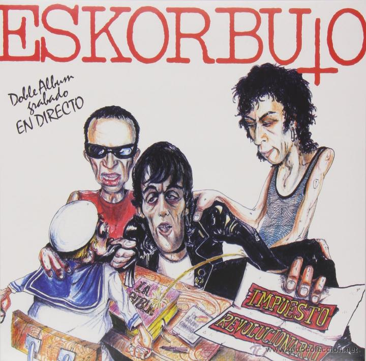 LP ESKORBUTO IMPUESTO REVOLUCION VINYL PUNK KBD BASQUE (Música - Discos - LP Vinilo - Punk - Hard Core)