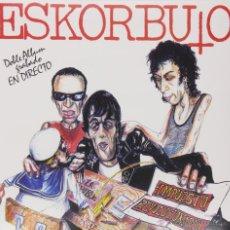 Discos de vinilo: LP ESKORBUTO IMPUESTO REVOLUCION VINYL PUNK KBD BASQUE. Lote 128005155