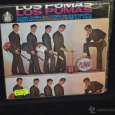 Discos de vinilo: LOS PUMAS - CHIN CHIN + 3 - EP. Lote 46256185