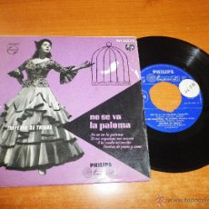 Discos de vinilo: IMPERIO DE TRIANA NO SE VA LA PALOMA / SI ME ENGAÑAS ME MUERO EP VINILO PHILIPS 4 TEMAS. Lote 46260315
