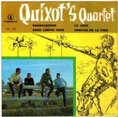 """Discos de vinilo: QUIXOT'S QUARTET - EP SINGLE 7"""" - EDITADO EN ESPAÑA - LA LIRIO + GUADALQUIVIR + 2 - HAPPYBAND 1967.. Lote 46264987"""