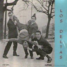 """Discos de vinilo: LOS DELTAS - EP SINGLE VINILO 7"""" - EDITADO EN PORTUGAL - MI AMOR ERES TÚ + 3 - ORFEU. Lote 46265222"""