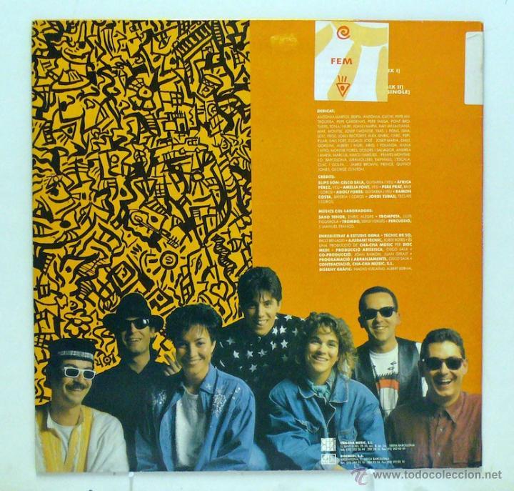 Discos de vinilo: Slips - Fem (Maxi Single Vinilo. Original 1992. Raro) - Foto 2 - 46286685