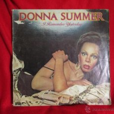 Discos de vinilo: DONNA SUMMER (REMEMBER YESTERDAY). Lote 46293535