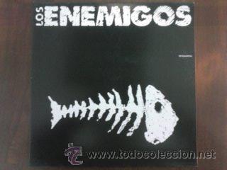 LOS ENEMIGOS – BOQUERON, GRABACIONES ACCIDENTALES – GA-342, MAXI, ORIGINAL SPAIN 1989 (Música - Discos de Vinilo - Maxi Singles - Grupos Españoles de los 70 y 80)