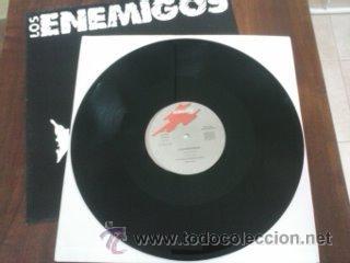 Discos de vinilo: Los Enemigos – Boqueron, Grabaciones Accidentales – GA-342, Maxi, Original Spain 1989 - Foto 4 - 46296849