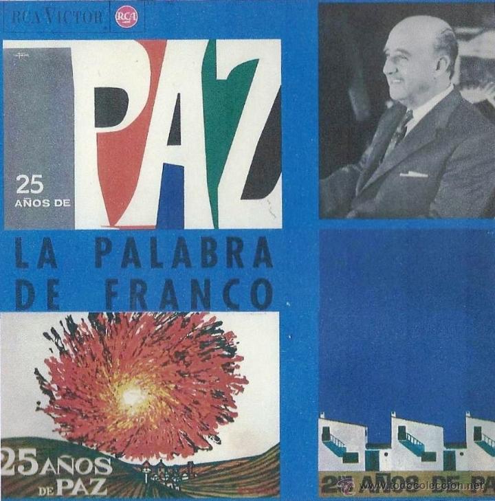 LA PALABRA DE FRANCO. 25 AÑOS DE PAZ. LP (Música - Discos - LP Vinilo - Otros estilos)