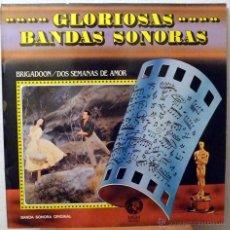 Discos de vinilo: BRIGADOON / DOS SEMANAS DE AMOR (LP). Lote 46314084