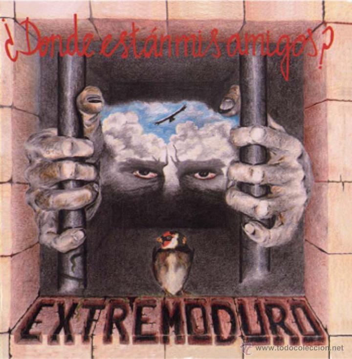 LP EXTREMODURO ¿DONDE ESTAN MIS AMIGOS? VINILO+CD (Música - Discos - LP Vinilo - Punk - Hard Core)