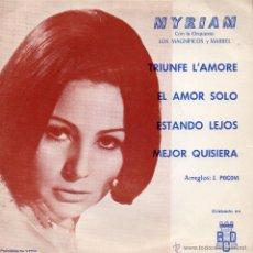Discos de vinilo: MYRIAM, EP, TRIUNFE L´AMORE + 3, AÑO 1971. Lote 46317101