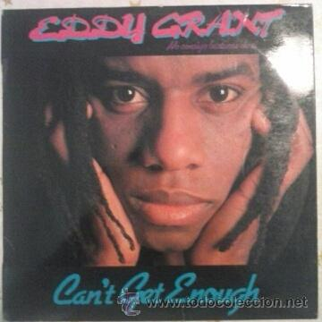 EDDY GRANT CAN'T GET ENOUGH LP REGGAE (Música - Discos de Vinilo - Maxi Singles - Reggae - Ska)